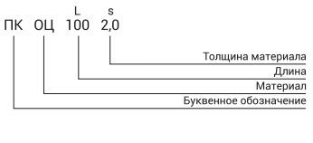 полка кабельная ПК обозначение фото