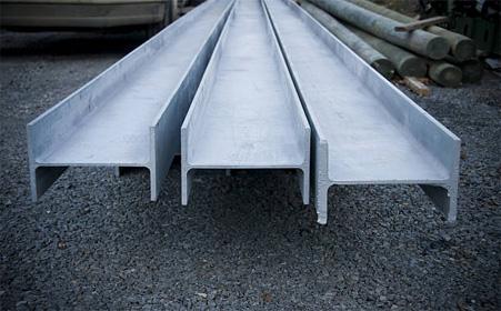 Балка стальная двутавровая